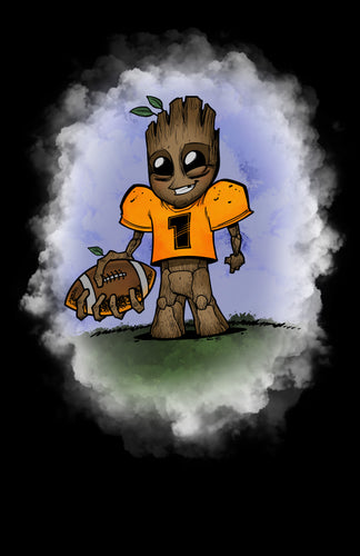 Football Player Groot