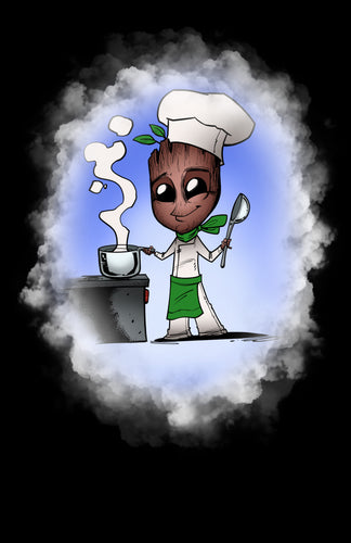 Kitchen Cook Groot