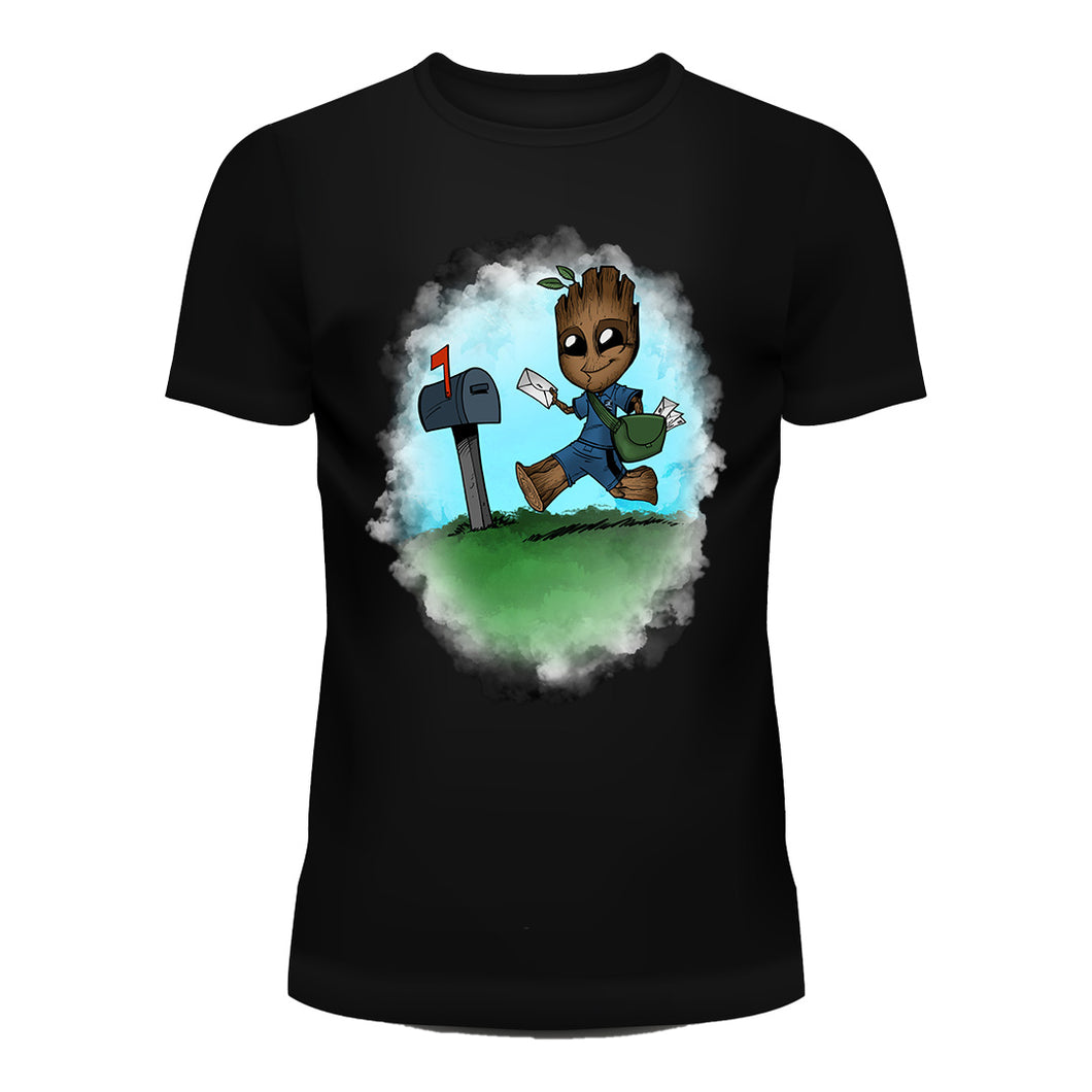Mail Carrier Groot T-Shirt