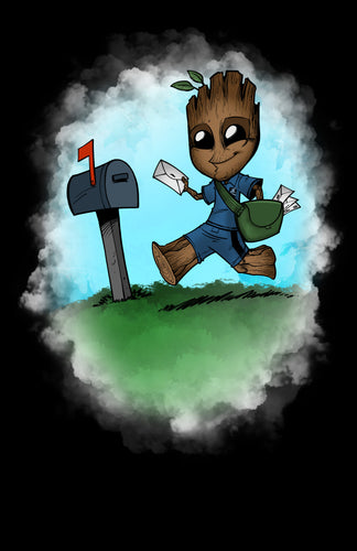 Mail Carrier Groot