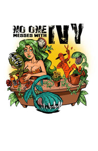 "Poison Ivy <br> <span style=""     font-size: 16px; "">No one messes with Ivy.</span>"