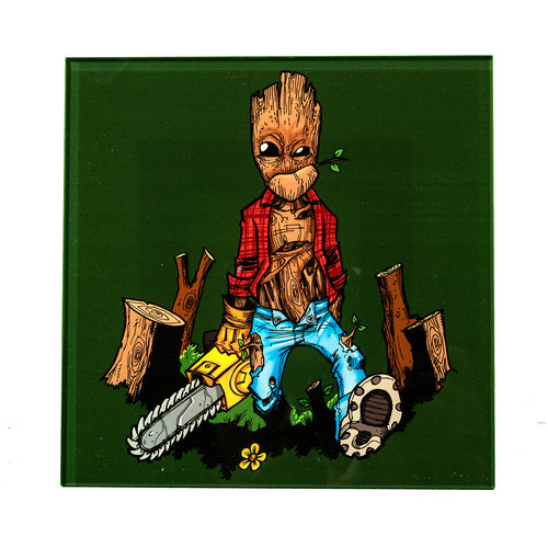 Groot Acrylic Artwork