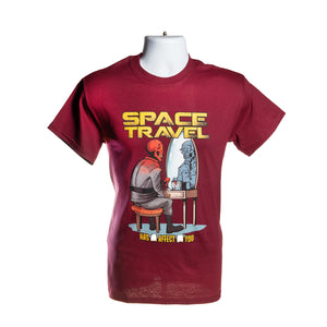 Red Skull Space Travel T-Shirt