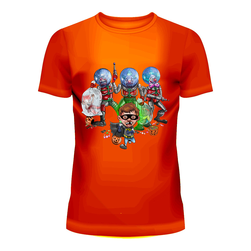 Halloween Space Clown T-Shirt