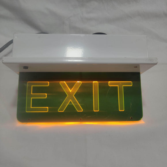 Glamox Illuminated Exit Signs for Boats and Yachts. Free Shipping