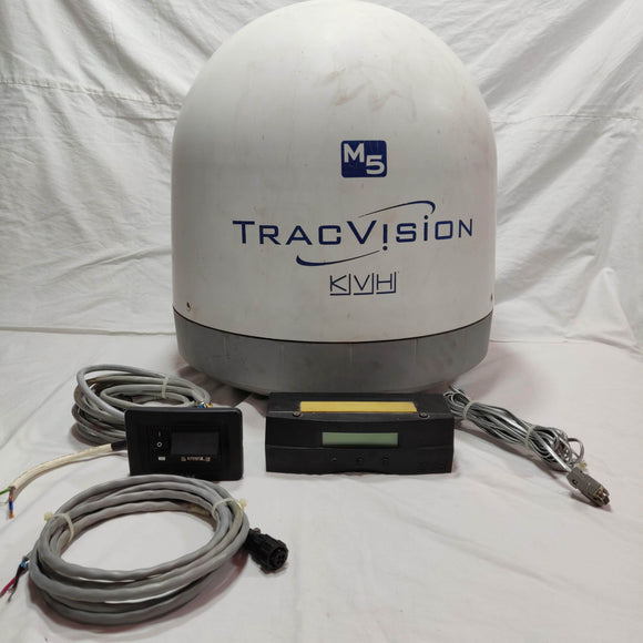 KVH Tracvision M5 TVRO for Yachts. Sparingly Used .