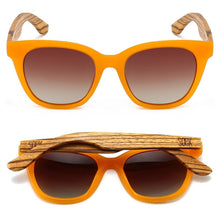 Load image into Gallery viewer, Lila Grace Burnt Orange Sunglasses