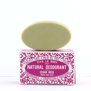 Natural solid deodorant by Viva la body