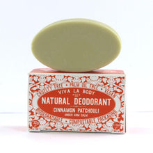 Load image into Gallery viewer, Natural solid deodorant by Viva la body