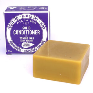 Solid conditioner, toning bar