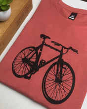 Load image into Gallery viewer, Bike tee - coral