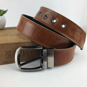 Switch belt in tan