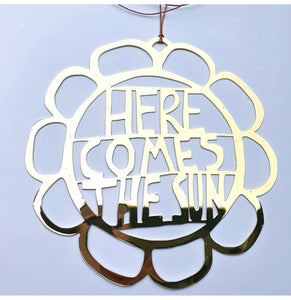 Here comes the sun wall hanging