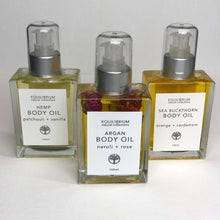 Load image into Gallery viewer, Body oil by equilibrium