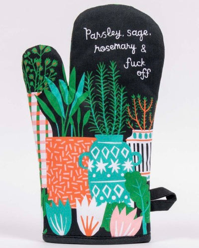 Oven mitt - Parsley, Sage, Rosemary and ...