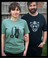 Load image into Gallery viewer, Cyberman tee - ink