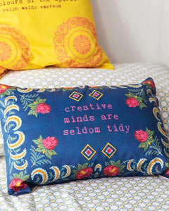 Creative minds - cushion cover