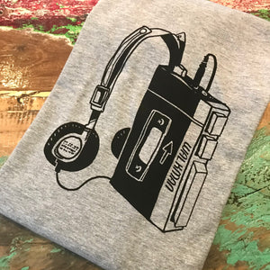 Walkman tee - grey's
