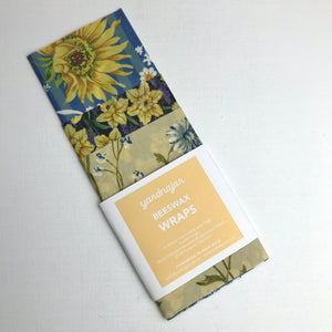 Beeswax wrap 3 pack S,M,L