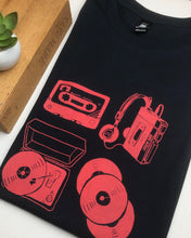 Load image into Gallery viewer, Music lovers tee - ink
