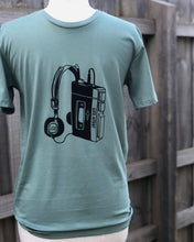 Load image into Gallery viewer, Walkman tee - sage