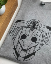 Load image into Gallery viewer, Cyberman tee - Grey marle