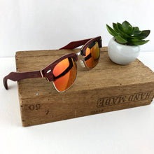 Load image into Gallery viewer, FMX sunglasses in rosewood/red-yellow