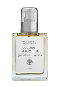 Body oil by equilibrium