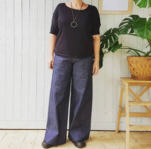 Load image into Gallery viewer, Greta pant denim