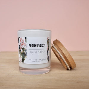 Signature Frankie candle - Cactus flower