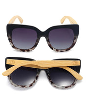 Load image into Gallery viewer, Riviera Sunglasses Black/ivory