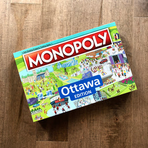 """PAY WHAT YOU CAN"" Official Monopoly Ottawa Board Game"