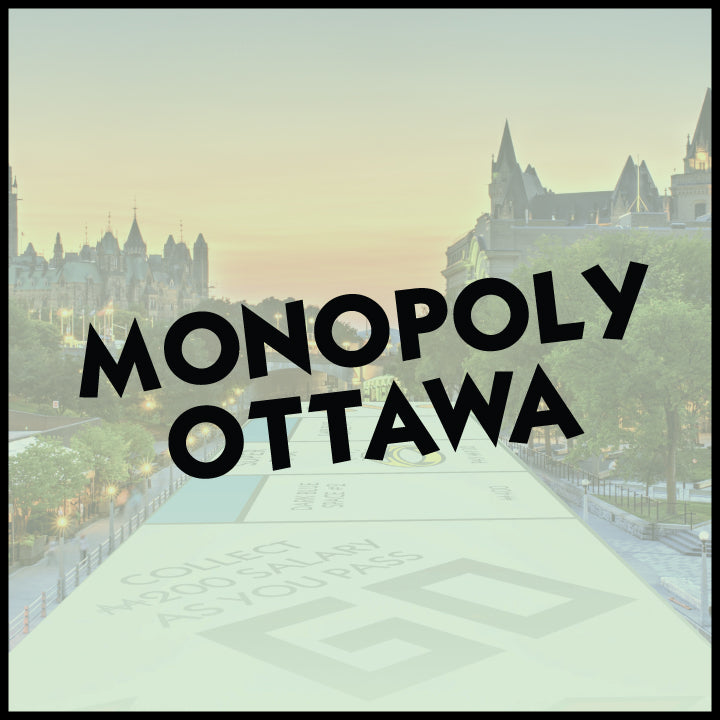 Quadreal Special Offer -  Monopoly Ottawa Board Game
