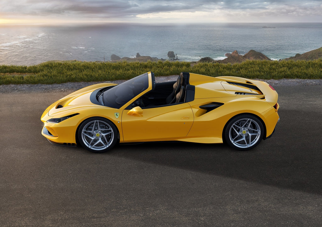 The Ferrari F8 Spider