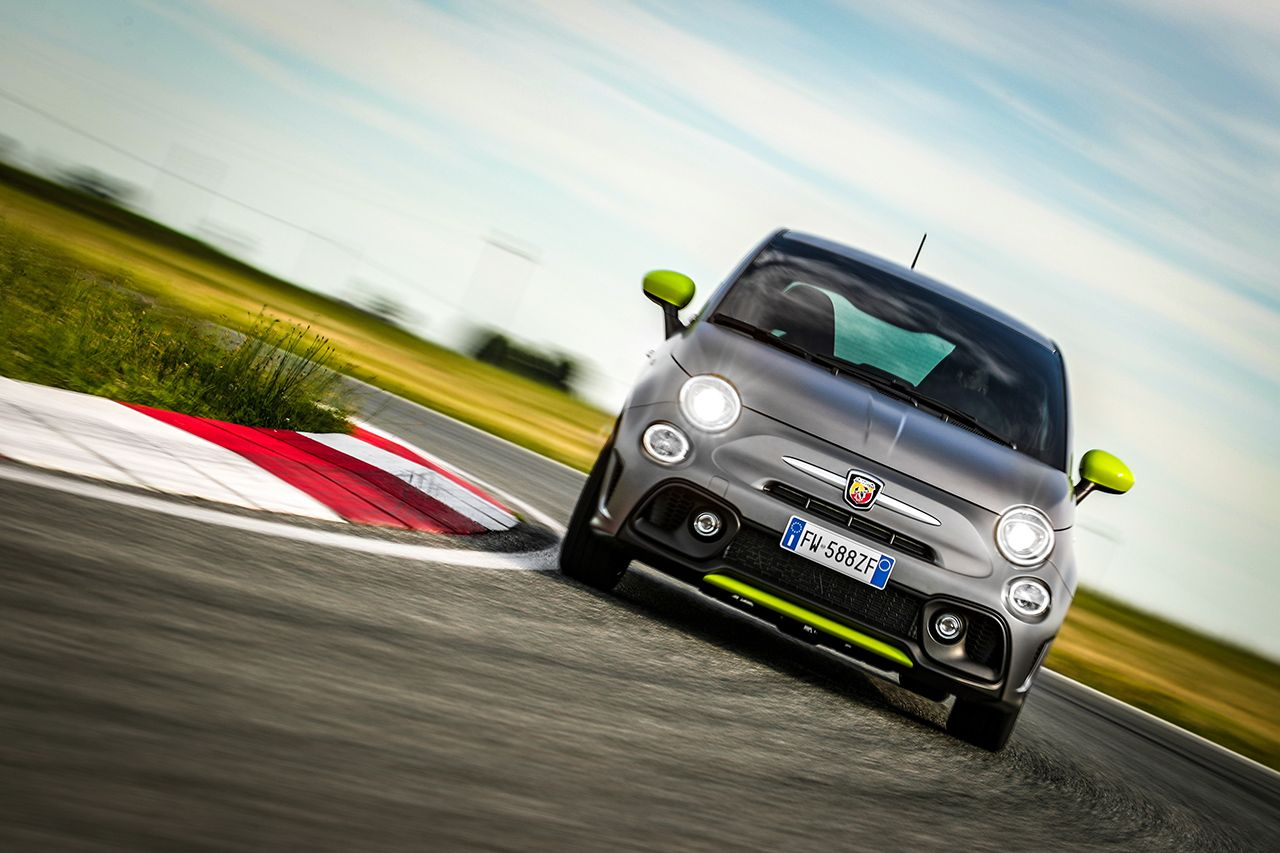 New Abarth 595 Pista, created for young driver