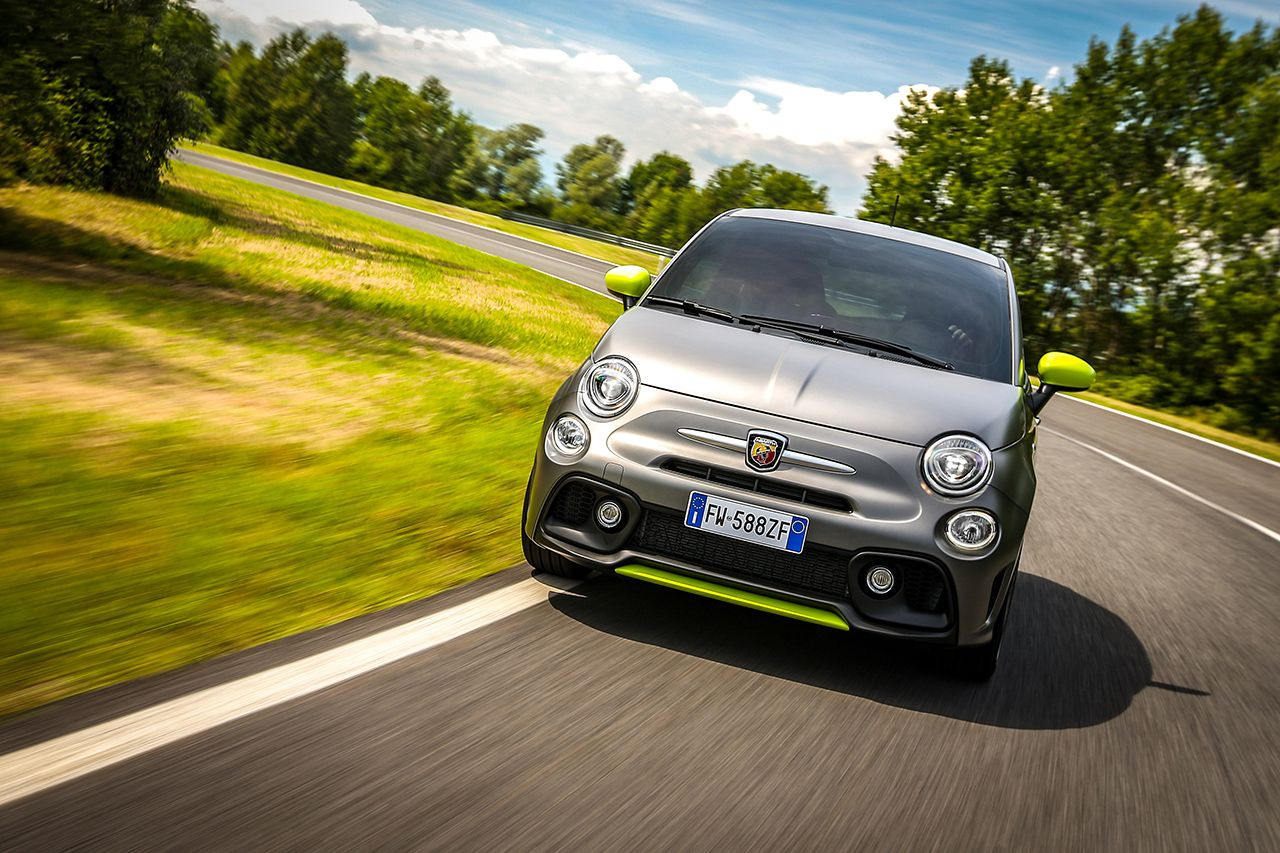 New Abarth 595 Pista, created for young