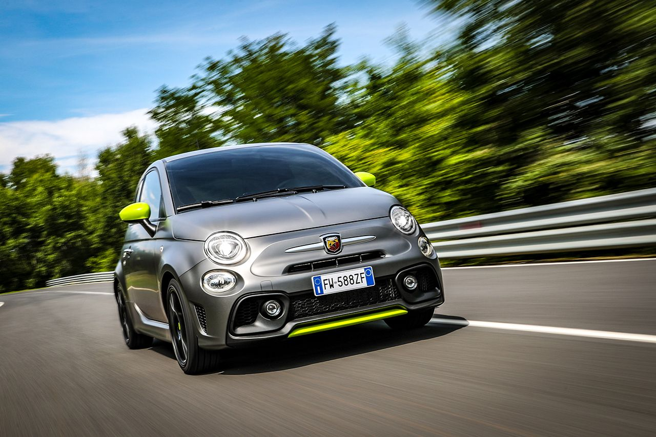 New Abarth 595 Pista, created for young drivers