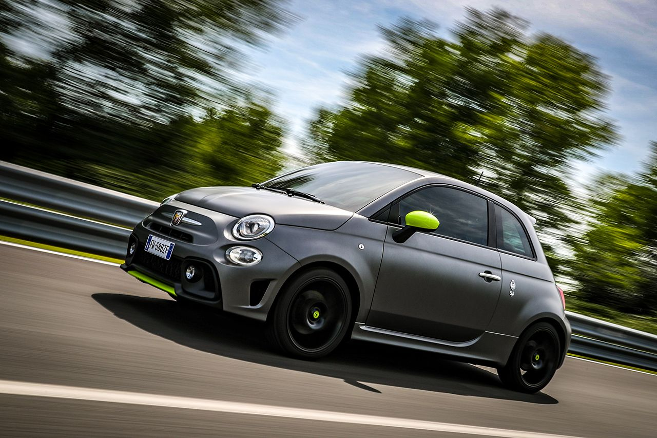 New Abarth 595 Pista, created for young drivers 2