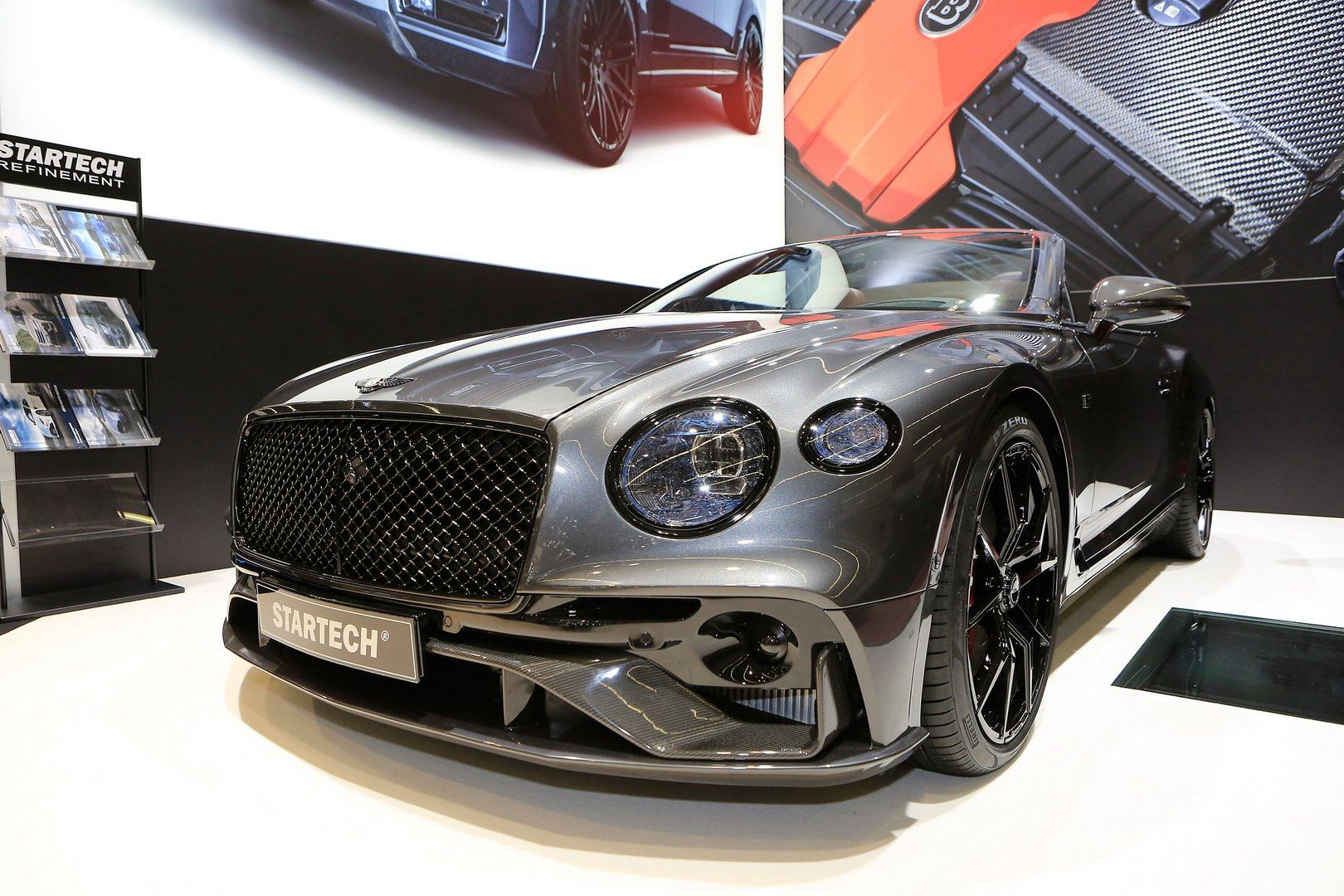 Bentley Continental GTC modified by STARTECH