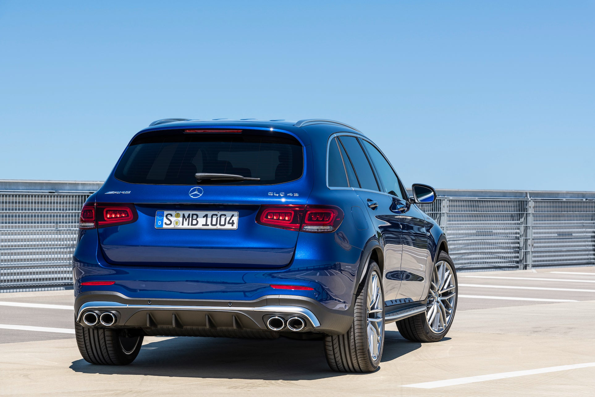 The new Mercedes-AMG GLC 43 4MATIC models 2