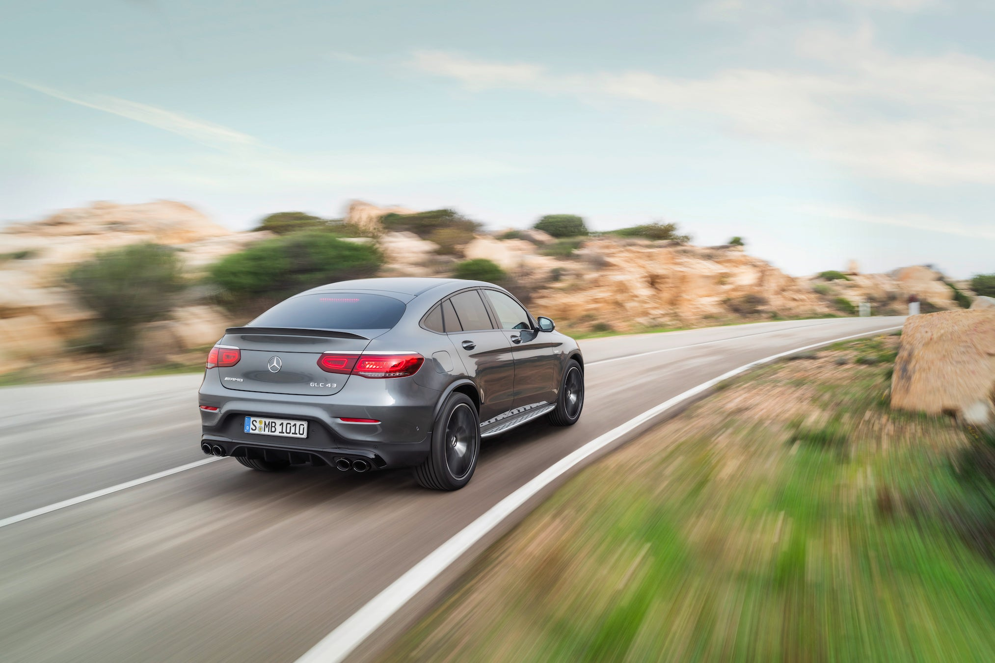 The new Mercedes-AMG GLC 43 4MATIC models