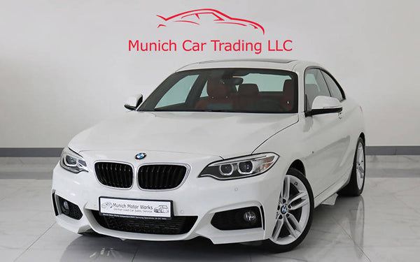 BMW 220i M Sport 2016 GCC – August 2021 BMW Warranty