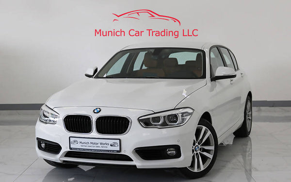 BMW 120i 2018 GCC – March 2023