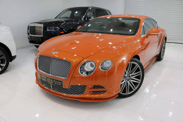 Bentley GT Speed Mulliner Edition
