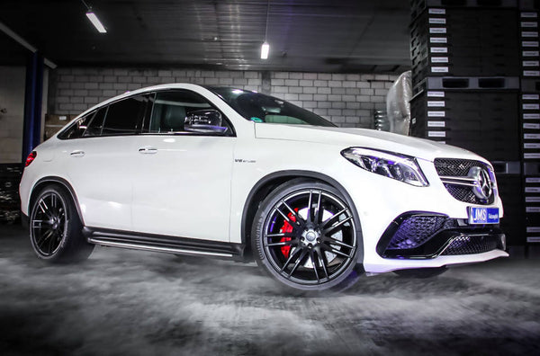 Mercedes GLE 63 AMG fastback tuning and styling from jms