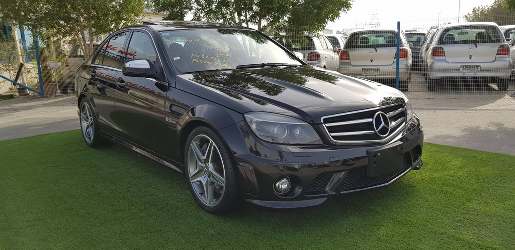 C 63 AMG - 2009 - 65000 KM - JAPAN IMPORTED SUPER CLEAN CAR - COMPREHENSIVE MAINTENANCE - NEW TIRES 2020