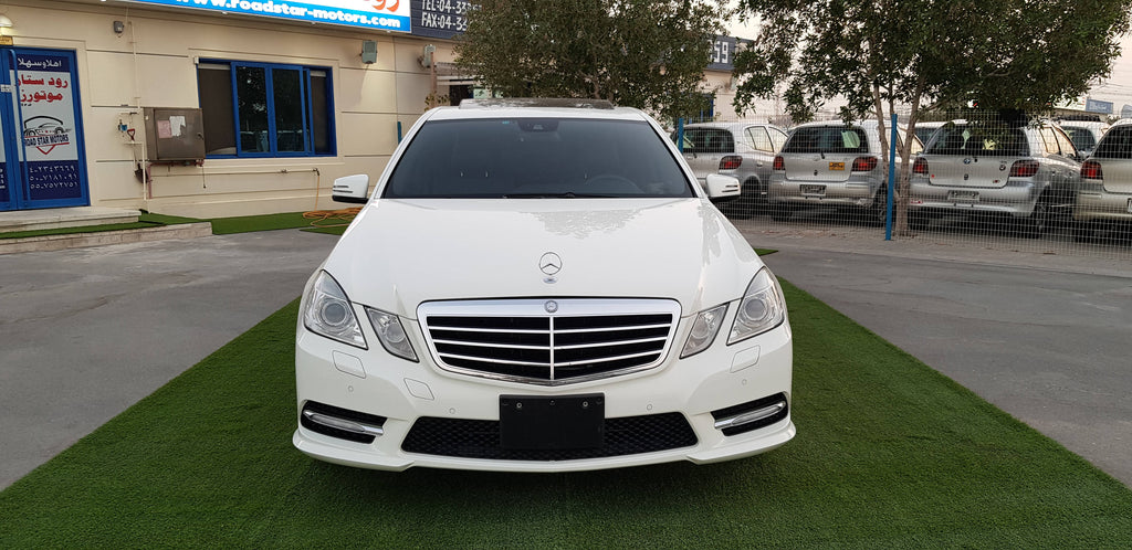 M.BENZ E350 AMG KIT - 2010 - 51242 KM - JAPAN IMPORTED SUPPER CLEAN CAR - COMPREHENSIVE MAINTENANCE - NEW TIRES 2020