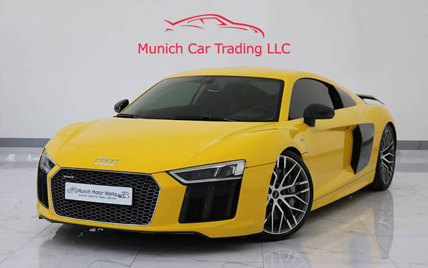 Audi R8 V10 Plus 2017 GCC – Warranty/FSH/Fully loaded/Stunning car!