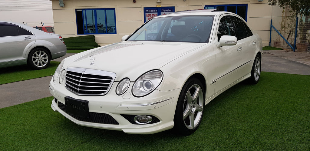 E550 AMG KIT - 2008- 56429 KM - JAPAN IMPORTED SUPPER CLEAN CAR - COMPREHENSIVE MAINTENANCE - NEW TIRES