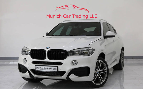 BMW X6 xDrive35i M Sport 2018 GCC – Warranty